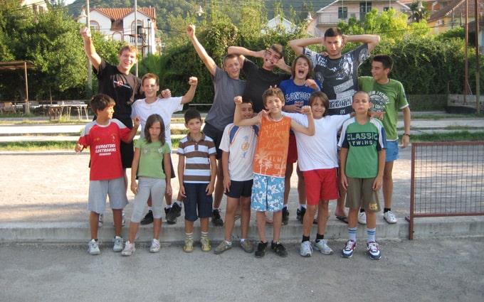 Pripreme u Crnoj Gori, Tivat 2010