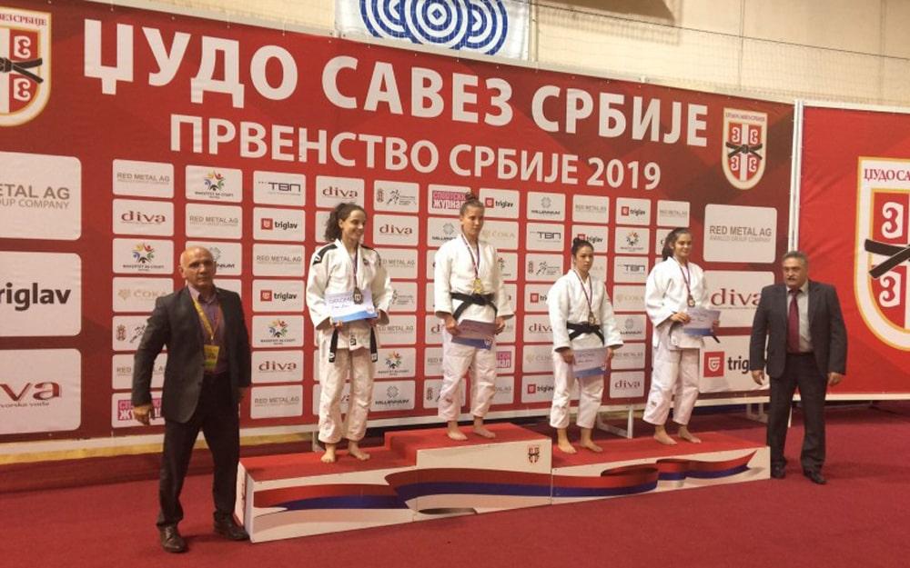 Kuruzović Milena prvakinja Srbije za mladje seniorke