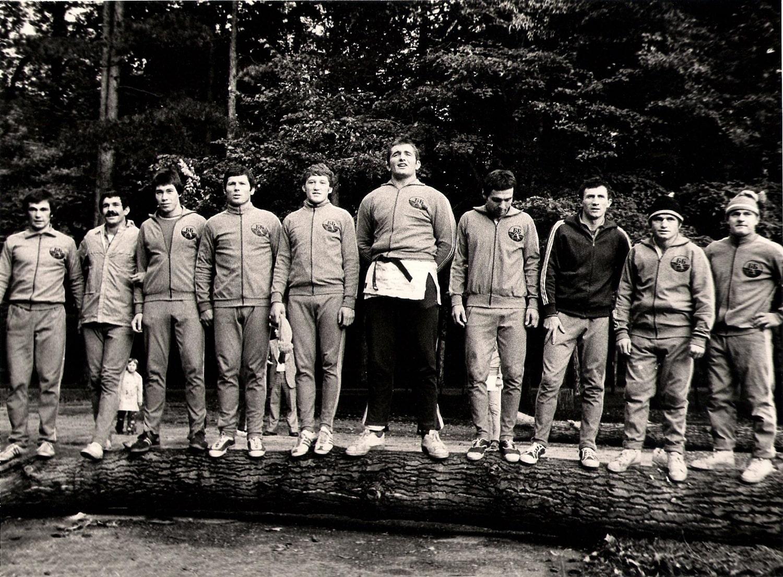 Pripreme reprezentacije SFRJ u Arandjelovcu