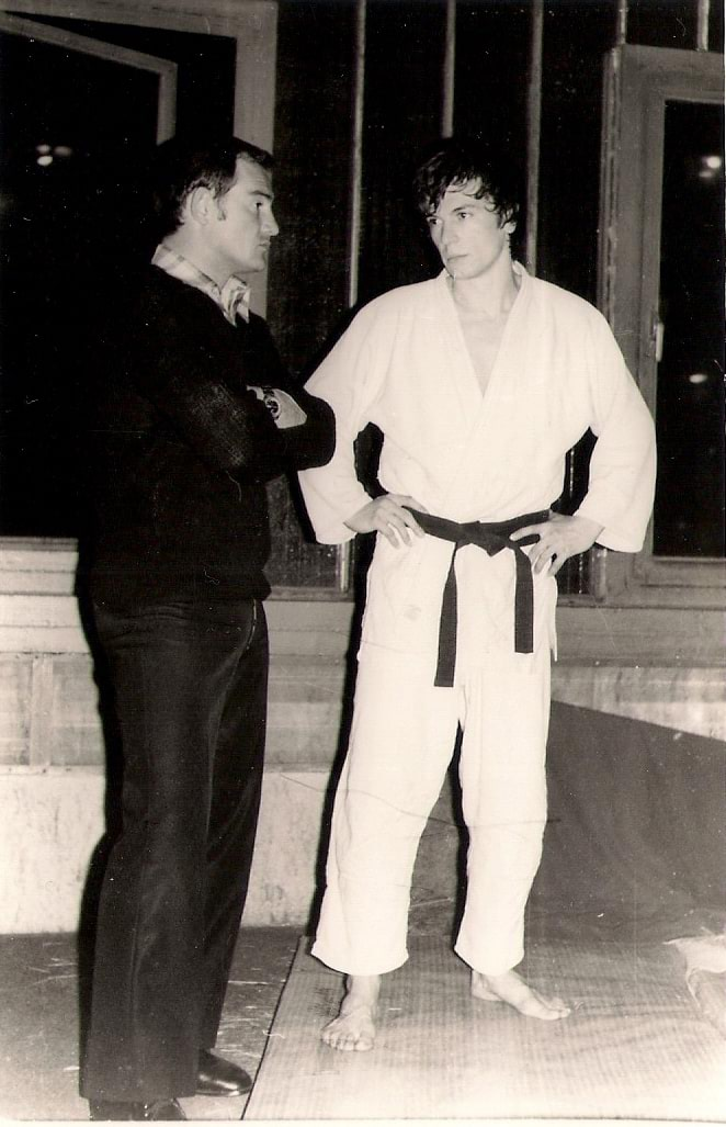 Slobodan Nikolić i Milan Mijalković (Hala sportova 1975)