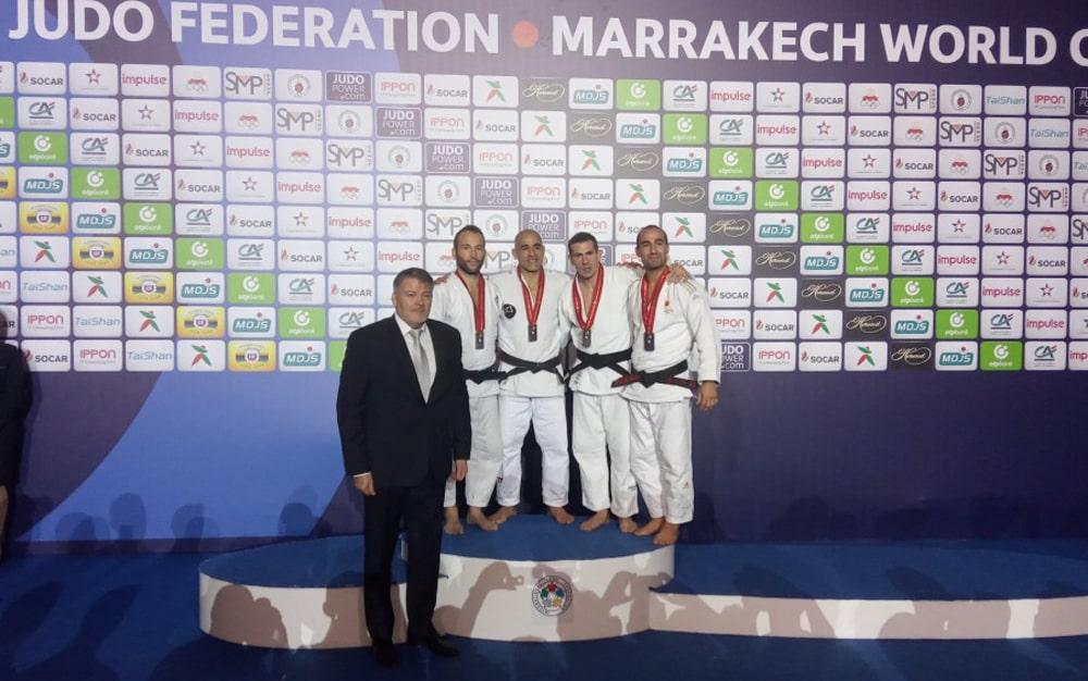 "Trener džudo kluba ""Novi Beograd"" Marko Mijalković treći na svetu"