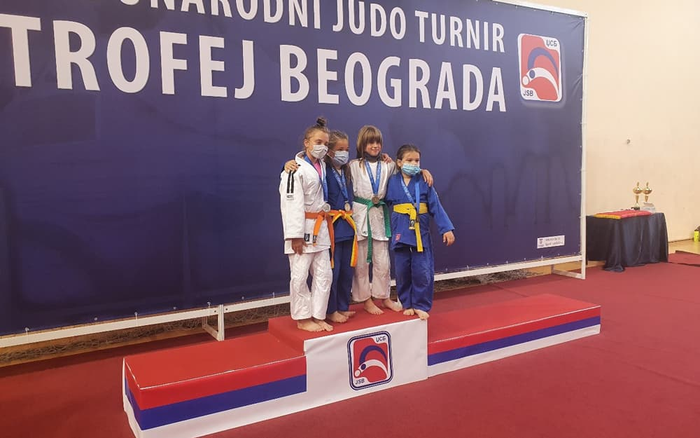 Medjunarodni judo turnir Trofej Beograda 2021